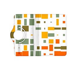 Rectangles And Squares In Retro Colors  kindle Fire Hd (2013) Flip 360 Case by LalyLauraFLM