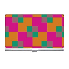 Squares    business Card Holder by LalyLauraFLM