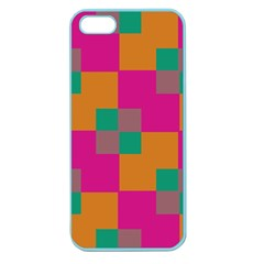 Squares    			apple Seamless Iphone 5 Case (color) by LalyLauraFLM