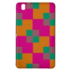 Squares    samsung Galaxy Tab Pro 8 4 Hardshell Case by LalyLauraFLM