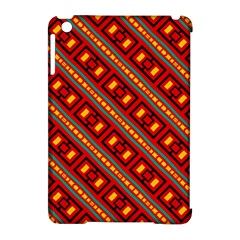 Distorted Stripes And Rectangles Pattern      apple Ipad Mini Hardshell Case (compatible With Smart Cover) by LalyLauraFLM