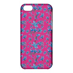 Floral Collage Revival Apple Iphone 5c Hardshell Case by dflcprints