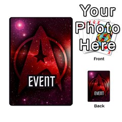Star Trek The Dice Game Deck 1 By Carl White   Multi Purpose Cards (rectangle)   Nr65685hm13c   Www Artscow Com Back 39