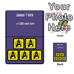Star Trek The Dice Game Deck 2 By Carl White   Multi Purpose Cards (rectangle)   9g4zlkjd1cb3   Www Artscow Com Front 13