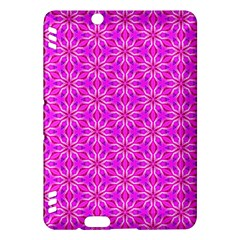 Pink Snowflakes Spinning In Winter Kindle Fire Hdx Hardshell Case by DianeClancy