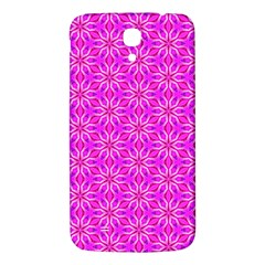 Pink Snowflakes Spinning In Winter Samsung Galaxy Mega I9200 Hardshell Back Case by DianeClancy
