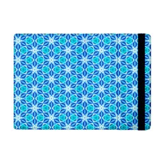 Aqua Hawaiian Stars Under A Night Sky Dance Apple Ipad Mini Flip Case by DianeClancy