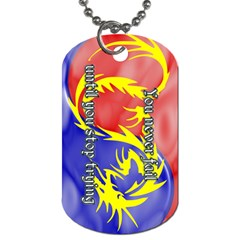 TaeELee-NeverFailTag Dog Tag (Two-sided)  by BankStreet