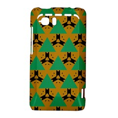 Triangles and other shapes pattern        			HTC Vivid / Raider 4G Hardshell Case by LalyLauraFLM