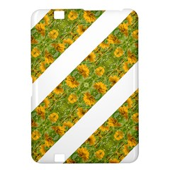 Indian Floral Pattern Stripes Kindle Fire Hd 8 9  by dflcprints