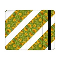 Indian Floral Pattern Stripes Samsung Galaxy Tab Pro 8.4  Flip Case by dflcprints