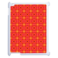 Peach Apricot Cinnamon Nutmeg Kitchen Modern Abstract Apple Ipad 2 Case (white) by DianeClancy