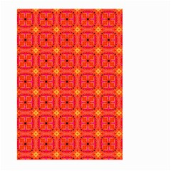 Peach Apricot Cinnamon Nutmeg Kitchen Modern Abstract Large Garden Flag (two Sides) by DianeClancy