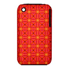 Peach Apricot Cinnamon Nutmeg Kitchen Modern Abstract Apple Iphone 3g/3gs Hardshell Case (pc+silicone) by DianeClancy