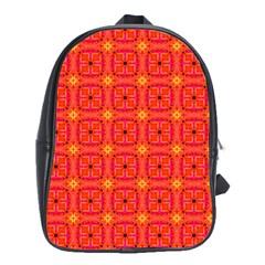 Peach Apricot Cinnamon Nutmeg Kitchen Modern Abstract School Bags (xl)  by DianeClancy