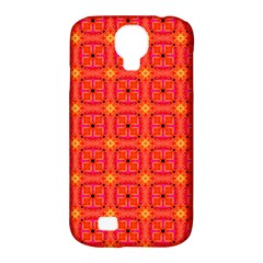 Peach Apricot Cinnamon Nutmeg Kitchen Modern Abstract Samsung Galaxy S4 Classic Hardshell Case (pc+silicone) by DianeClancy