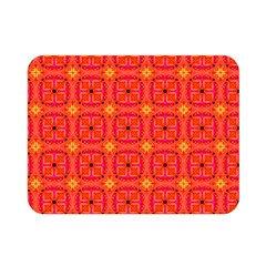 Peach Apricot Cinnamon Nutmeg Kitchen Modern Abstract Double Sided Flano Blanket (mini)  by DianeClancy