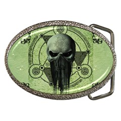 Awesome Green Skull Belt Buckles by FantasyWorld7