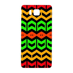 Rhombus and other shapes pattern             			Samsung Galaxy Alpha Hardshell Back Case by LalyLauraFLM