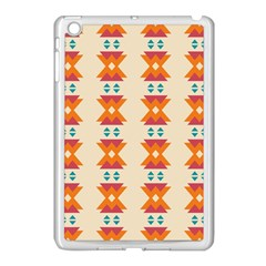 Triangles Tribal Pattern              			apple Ipad Mini Case (white) by LalyLauraFLM