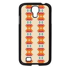 Triangles Tribal Pattern              samsung Galaxy S4 I9500/ I9505 Case (black) by LalyLauraFLM