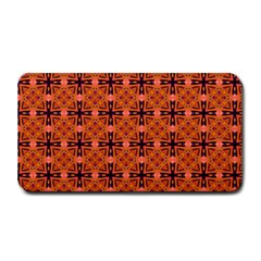 Peach Purple Abstract Moroccan Lattice Quilt Medium Bar Mats by DianeClancy
