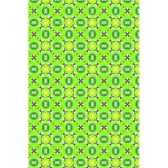 Vibrant Abstract Tropical Lime Foliage Lattice 5 5  X 8 5  Notebooks by DianeClancy
