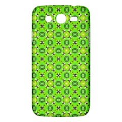 Vibrant Abstract Tropical Lime Foliage Lattice Samsung Galaxy Mega 5 8 I9152 Hardshell Case  by DianeClancy