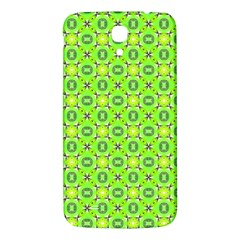 Vibrant Abstract Tropical Lime Foliage Lattice Samsung Galaxy Mega I9200 Hardshell Back Case by DianeClancy