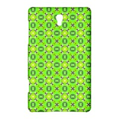 Vibrant Abstract Tropical Lime Foliage Lattice Samsung Galaxy Tab S (8 4 ) Hardshell Case  by DianeClancy