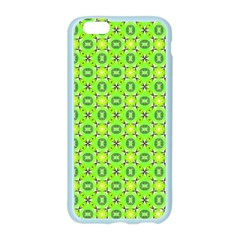 Vibrant Abstract Tropical Lime Foliage Lattice Apple Seamless iPhone 6/6S Case (Color) by DianeClancy