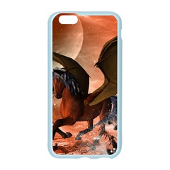 Wonderful Dark Unicorn In The Night Apple Seamless iPhone 6/6S Case (Color) by FantasyWorld7