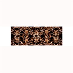 Dark Ornate Abstract  Pattern Large Bar Mats by dflcprints