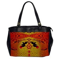 Green Sun Office Handbags by MRTACPANS