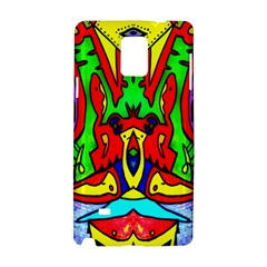 Heads Up Samsung Galaxy Note 4 Hardshell Case by MRTACPANS