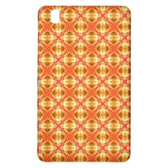 Peach Pineapple Abstract Circles Arches Samsung Galaxy Tab Pro 8 4 Hardshell Case by DianeClancy