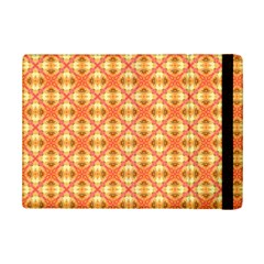 Peach Pineapple Abstract Circles Arches Ipad Mini 2 Flip Cases by DianeClancy