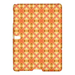 Peach Pineapple Abstract Circles Arches Samsung Galaxy Tab S (10 5 ) Hardshell Case  by DianeClancy