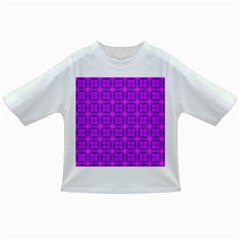 Abstract Dancing Diamonds Purple Violet Infant/toddler T Shirts by DianeClancy