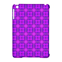 Abstract Dancing Diamonds Purple Violet Apple Ipad Mini Hardshell Case (compatible With Smart Cover) by DianeClancy