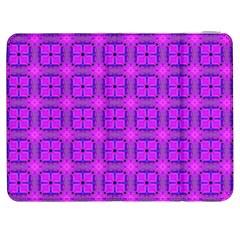 Abstract Dancing Diamonds Purple Violet Samsung Galaxy Tab 7  P1000 Flip Case by DianeClancy