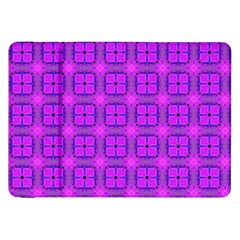 Abstract Dancing Diamonds Purple Violet Samsung Galaxy Tab 8 9  P7300 Flip Case by DianeClancy