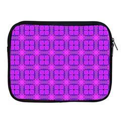 Abstract Dancing Diamonds Purple Violet Apple Ipad 2/3/4 Zipper Cases by DianeClancy