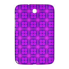 Abstract Dancing Diamonds Purple Violet Samsung Galaxy Note 8 0 N5100 Hardshell Case  by DianeClancy