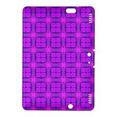 Abstract Dancing Diamonds Purple Violet Kindle Fire Hdx 8 9  Hardshell Case by DianeClancy