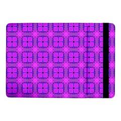 Abstract Dancing Diamonds Purple Violet Samsung Galaxy Tab Pro 10 1  Flip Case by DianeClancy