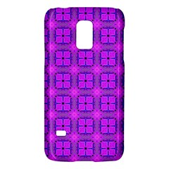 Abstract Dancing Diamonds Purple Violet Galaxy S5 Mini by DianeClancy