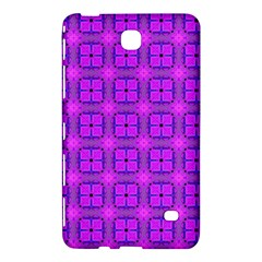 Abstract Dancing Diamonds Purple Violet Samsung Galaxy Tab 4 (8 ) Hardshell Case  by DianeClancy