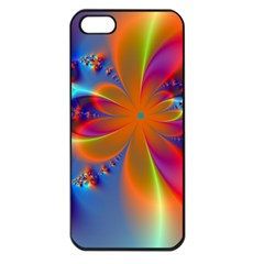 Bright Apple Iphone 5 Seamless Case (black) by Delasel
