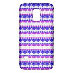 Floral Stripes Pattern Galaxy S5 Mini by dflcprints